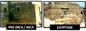 Egyptian-inca-buildings-parallel