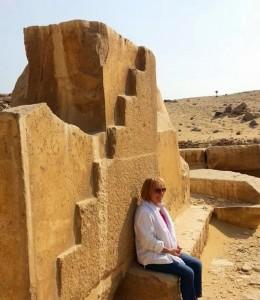 Mary-Lomando-at-Abu-Sir-Sun-Temple-near-Saqqara-Egypt-October-2013