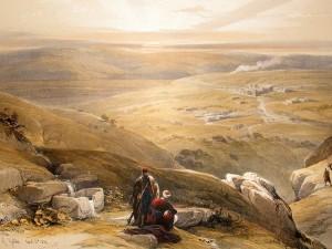 david-roberts-holy-land-1846-folio-1st.-cana-israel.-hand-col-print-[2]-16418-p