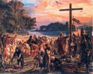 zaprowadzenie_chrzescijanstwa_jan_matejko