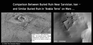 Comparison-Buried_Single_Ruins-Earth_Mars