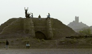 Ancient Ziggurat Towers Over Iraqi Landscape