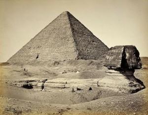 sfinks-giza-100-lat-temu