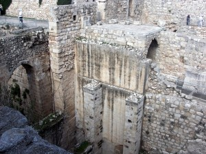 Look how deep the pools of Bethesda were!