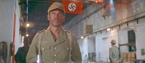 raiders of the lost ark nazi flag with harrison ford as a spy