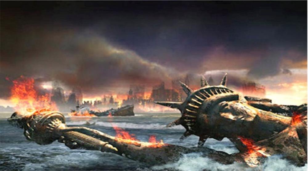 """Kosmiczna interpretacja Apokalipsy – Czy USA to biblijny """"Wielki Babilon"""", który niedługo upadnie ?"""