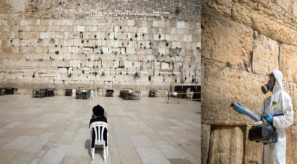 Specjalne strefy pod megalityczną ścianą rabinów – niektórzy chcą zdezynfekować prawdę !