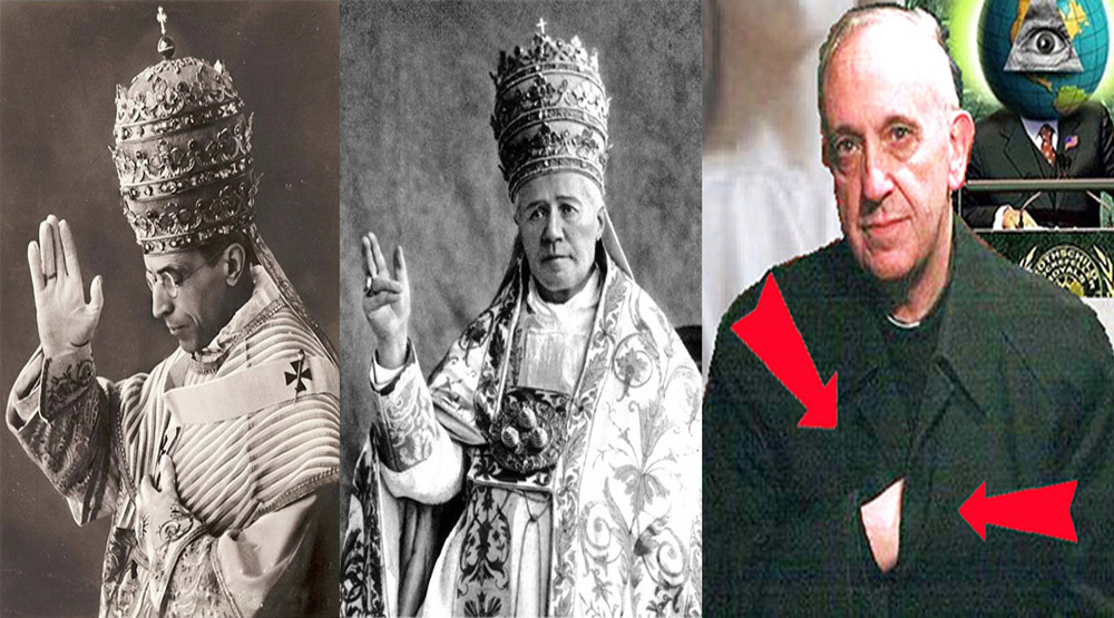 """Papież BerGOGlio prosi globalistów o szybsze wprowadzenie szatańskiego NWO, przywołując nadprzyrodzoną istotę """"Goga"""" ?"""